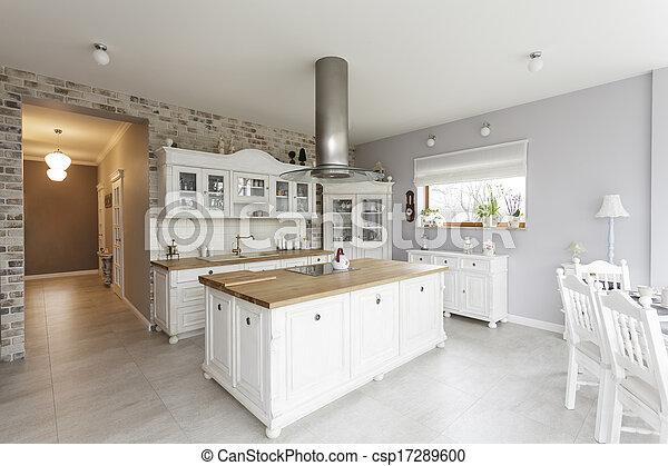 Tuscany - kitchen - csp17289600