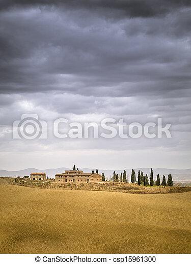 Tuscany Landscape - csp15961300