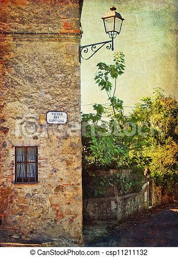 Tuscany landscape - csp11211132