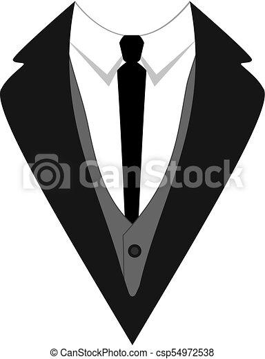 Tuxedo vector icon flat design vector illustration template tuxedo vector icon flat design vector illustration template ceremony official dressing man maxwellsz