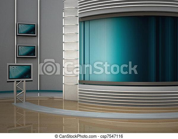 tv εργαστήρι καλιτέχνη  - csp7547116