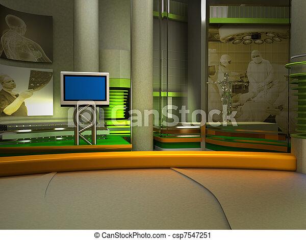 tv εργαστήρι καλιτέχνη  - csp7547251