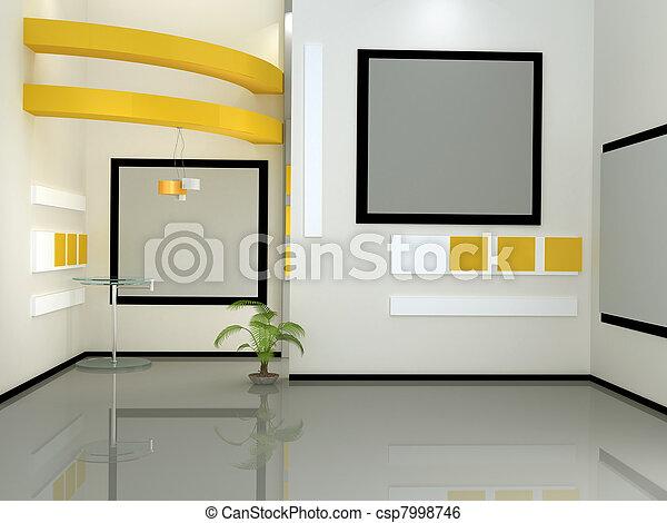 tv εργαστήρι καλιτέχνη  - csp7998746