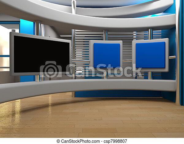 tv εργαστήρι καλιτέχνη  - csp7998807