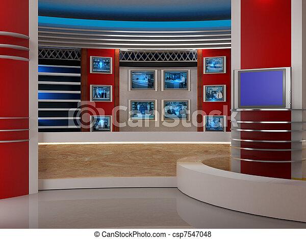 tv εργαστήρι καλιτέχνη  - csp7547048