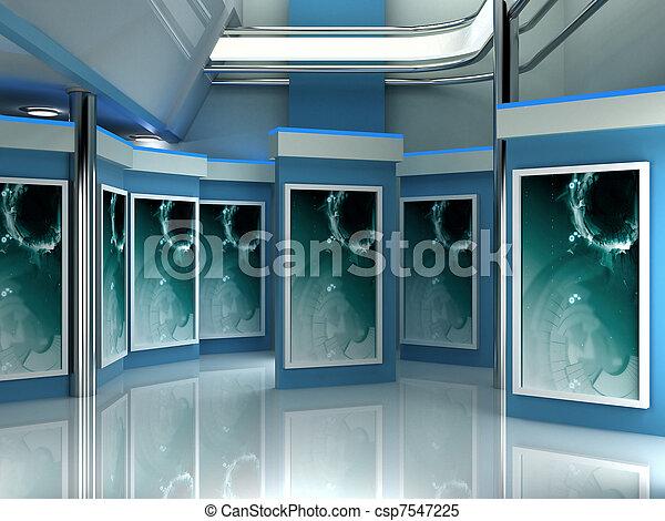 tv εργαστήρι καλιτέχνη  - csp7547225