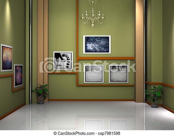 tv εργαστήρι καλιτέχνη  - csp7981598