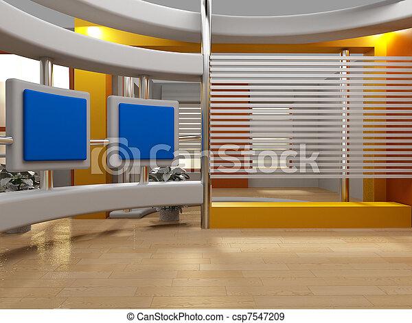 tv εργαστήρι καλιτέχνη  - csp7547209