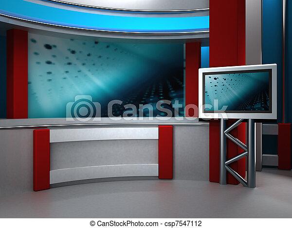 tv εργαστήρι καλιτέχνη  - csp7547112