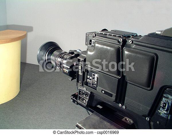 tv κάμερα , στούντιο  - csp0016969