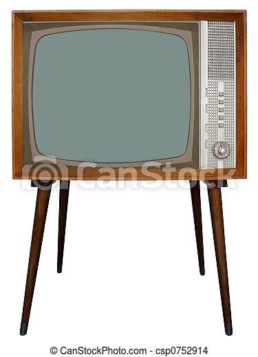 tv, 古い - csp0752914