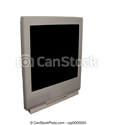 TV - Blank Screen - csp0000024