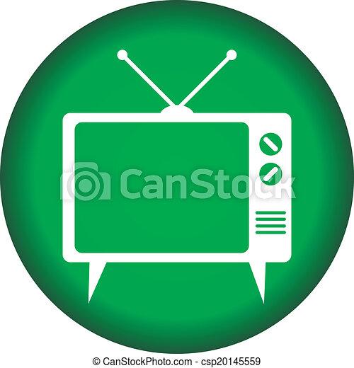 TV button - csp20145559