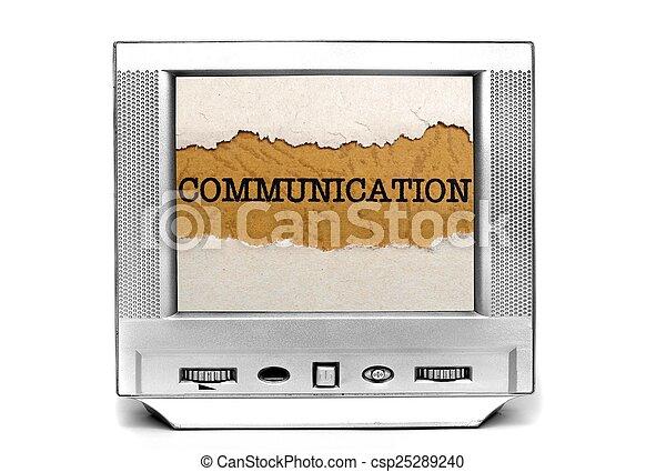 Tv communication - csp25289240