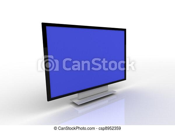 tv, concept - csp8952359
