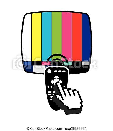tv, divertissement - csp26838654