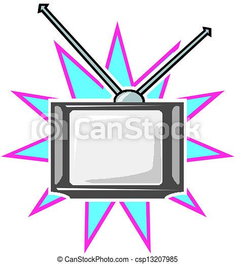 tv - csp13207985