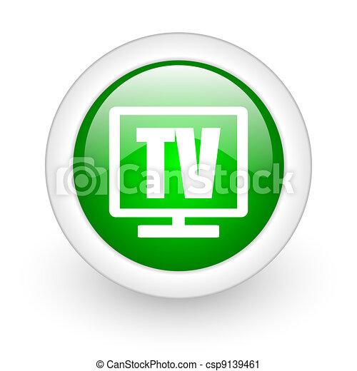 tv icon - csp9139461
