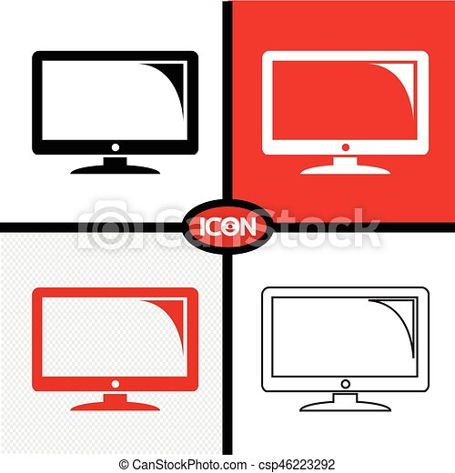 tv icon eps vectors search clip art illustration drawings and rh canstockphoto ca Document Icon Clip Art Contact Us Icon