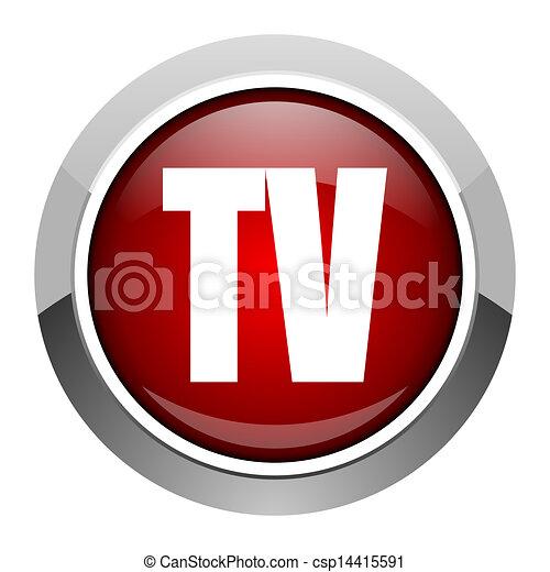 tv icon - csp14415591
