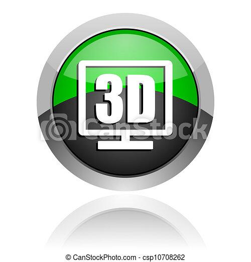 tv icon - csp10708262