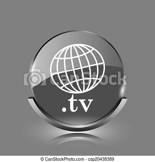 .tv icon - csp20438389