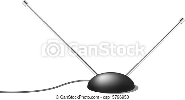 tv, interno, antenna - csp15796950