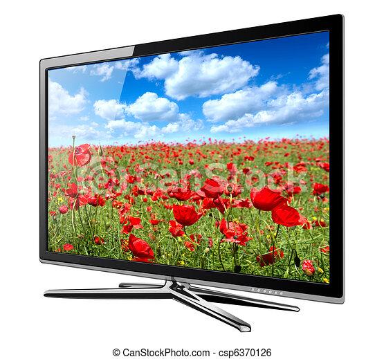 tv, lcd - csp6370126