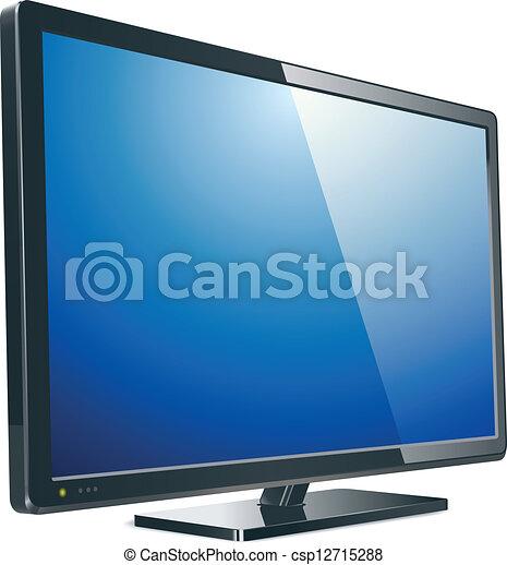 tv, lcd, monitor - csp12715288