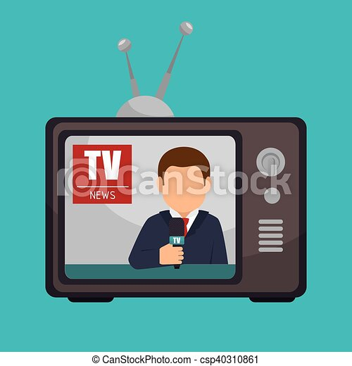 Tv News Anchorman Broadcast Graphic