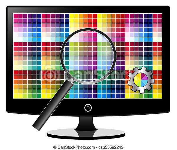 TV Screen Calibration