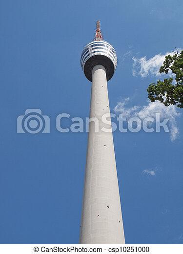 TV tower in Stuttgart - csp10251000