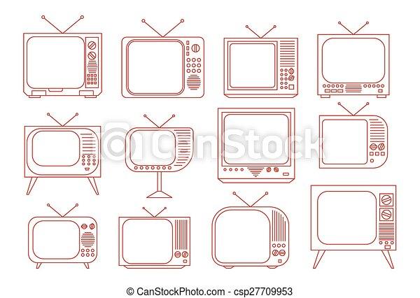 tv, vendange - csp27709953