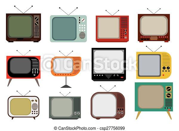 tv, vendange - csp27756099