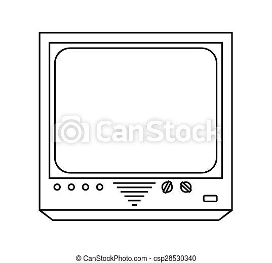 tv, vendange - csp28530340