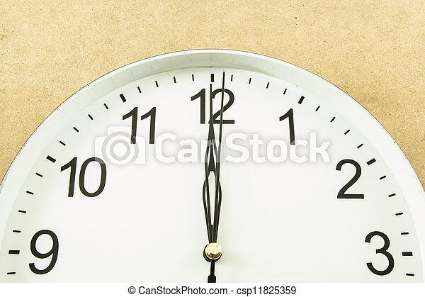 twelve o'clock - csp11825359