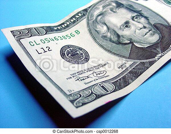 Twenty Dollar Bill - csp0012268