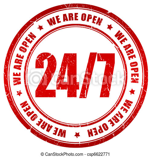 Twenty four seven - csp6622771