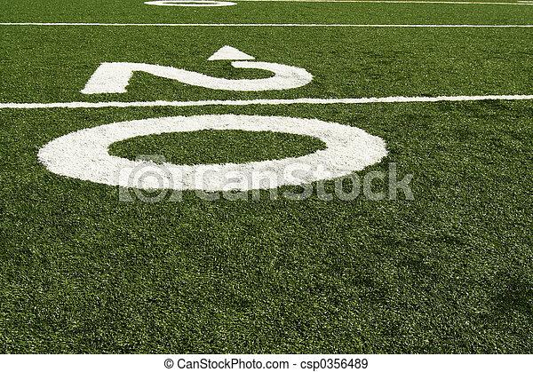 Twenty yard line - csp0356489