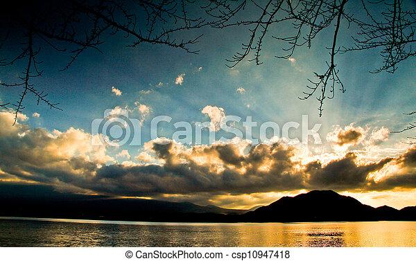 Twilight Sunset2 - csp10947418