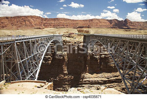 Twin Bridges - csp4035671