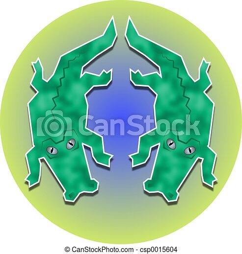 Twin Gators - csp0015604