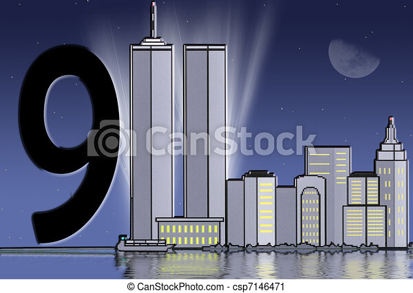 twin tower tribute light rays behind the the twin towers in rh canstockphoto com twin towers collapse clipart twin towers clip art free
