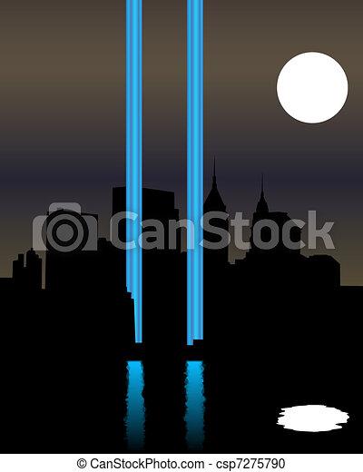 Twin Towers Memorial - csp7275790
