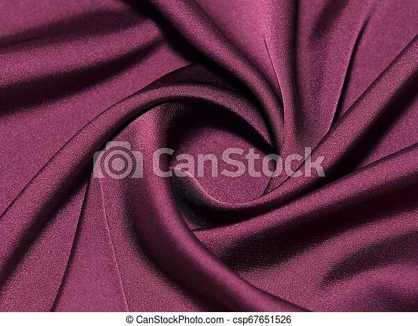 Twisted maroon silk - csp67651526