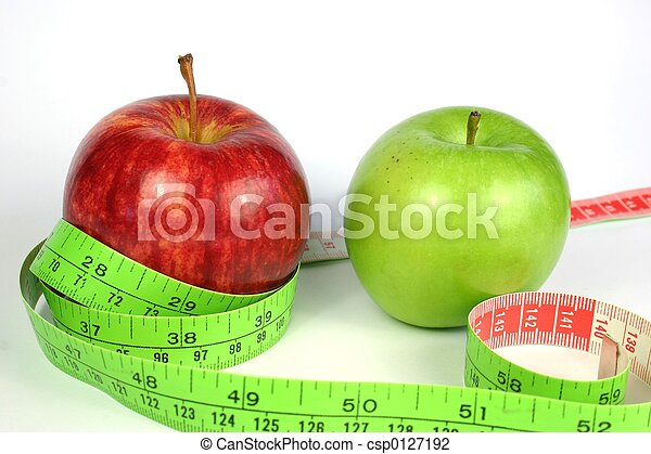 Two Apple Diet - csp0127192