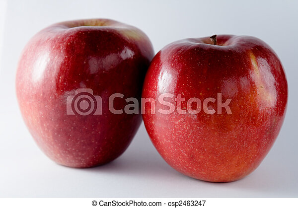 Two apples - csp2463247