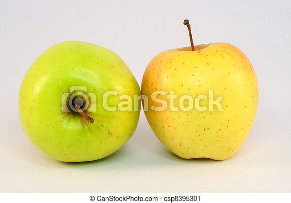 two apples - csp8395301