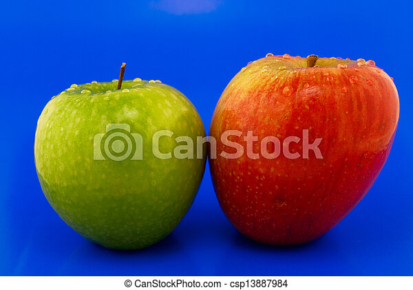 two apples - csp13887984