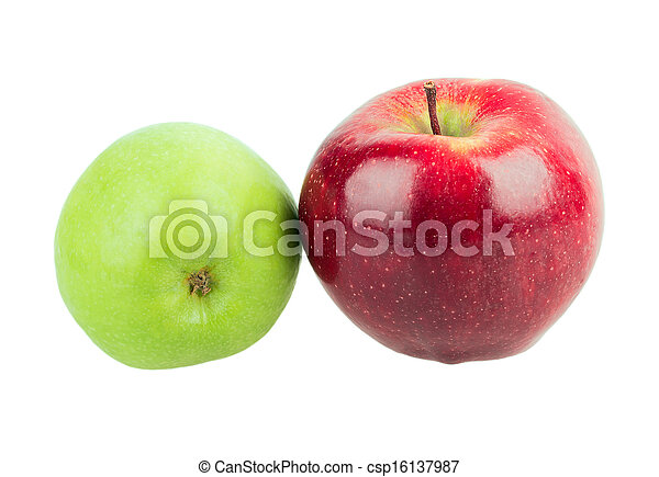 two apples - csp16137987